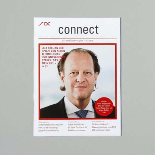 SIX Connect Editorial Design