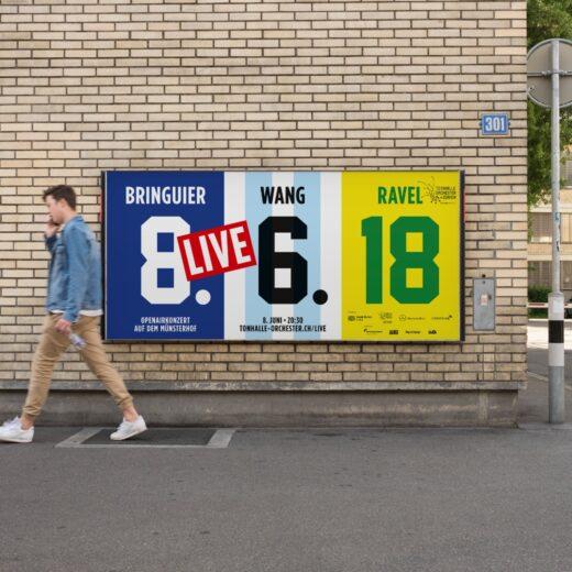 Tonhalle Maag Kampagne Design