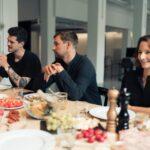 Essen und Lachen bei MADE in Zürich