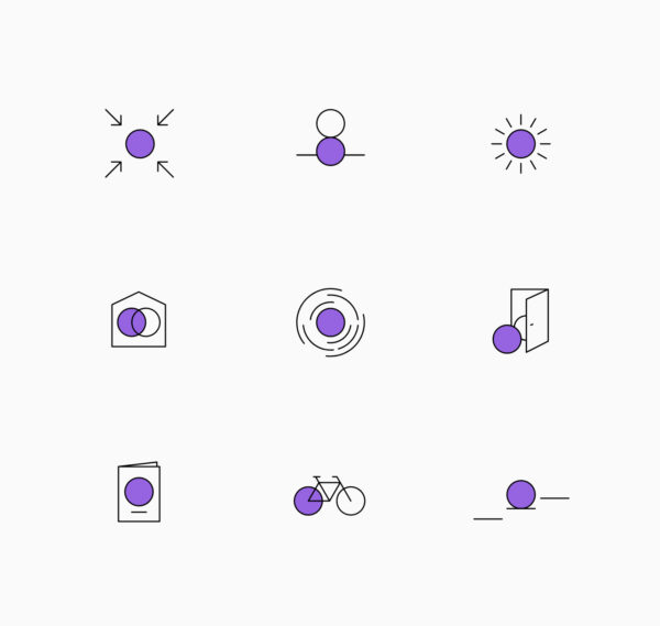 Icon Set Design für Rebranding
