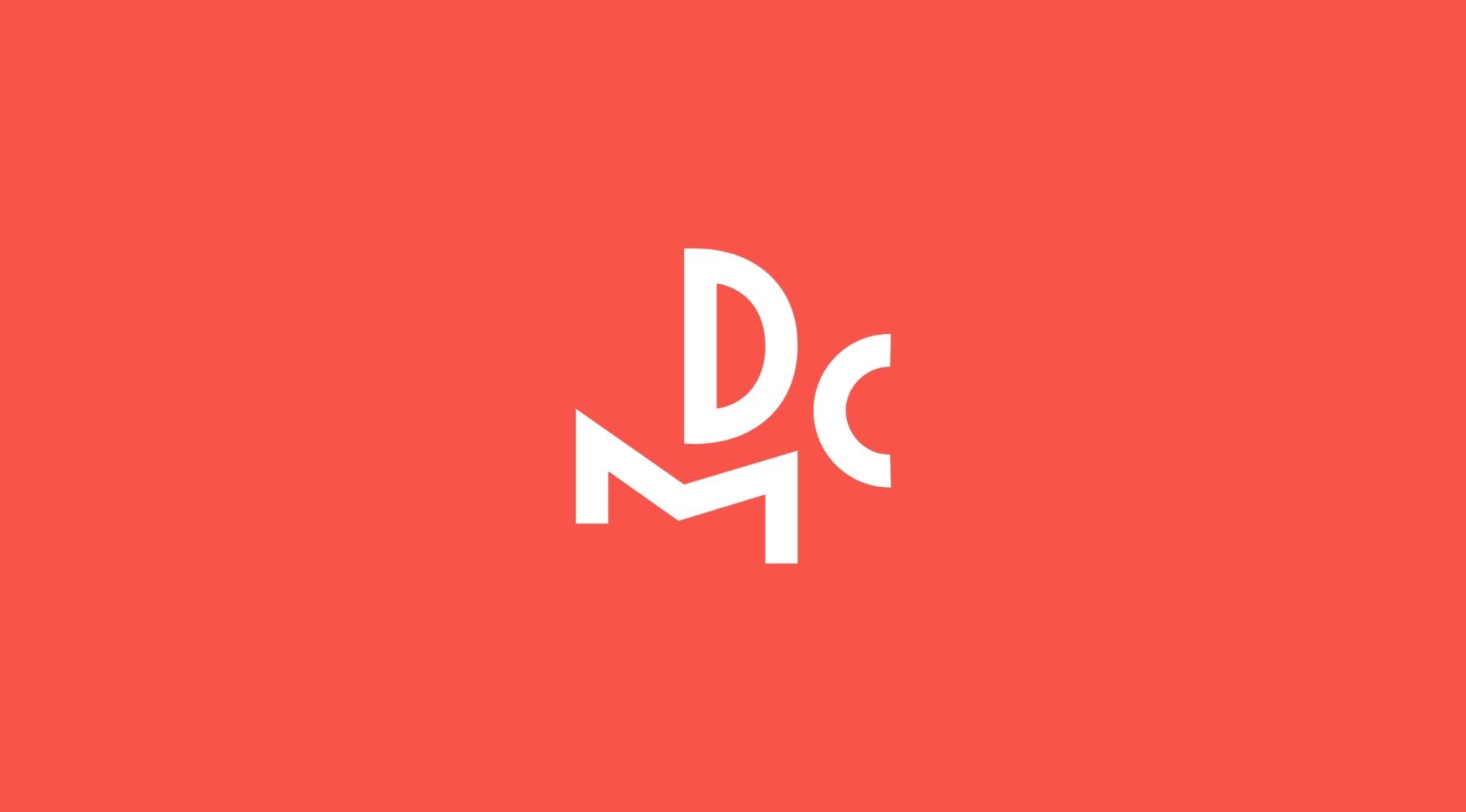 DCM Logo Design Branding