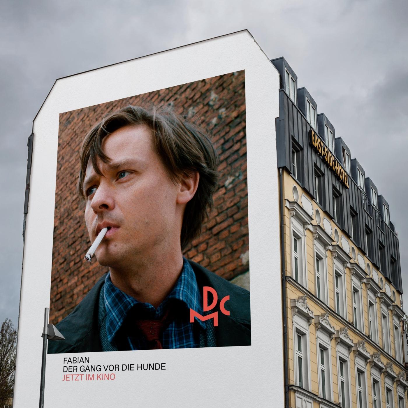 DCM Werbung Plakat Berlin