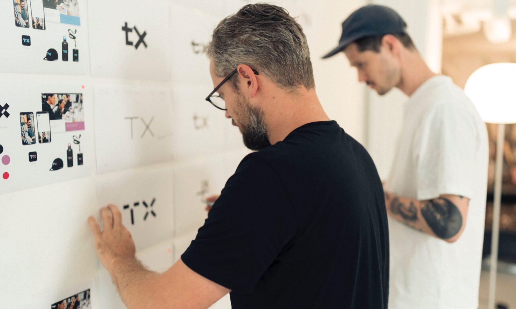 TX Corporate Identity Design bei MADE in Zürich