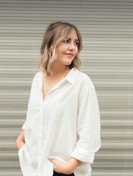 Brand Designerin Zoe Heeb