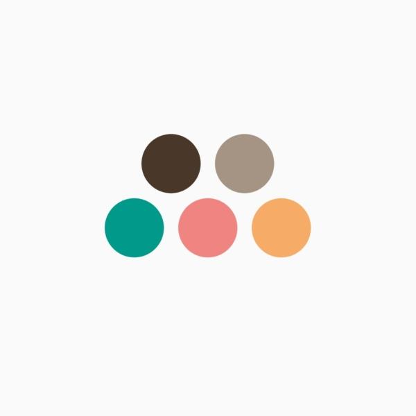 Primär- und Sekundärfarben Manuels Branding