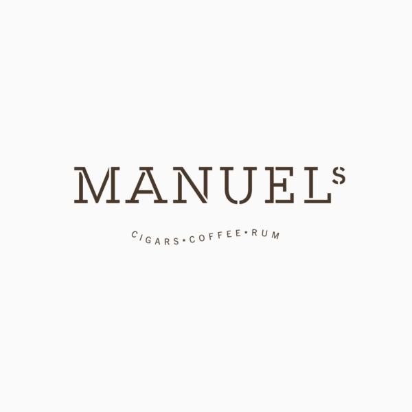 Logo Manuels Cigars Coffee Rum