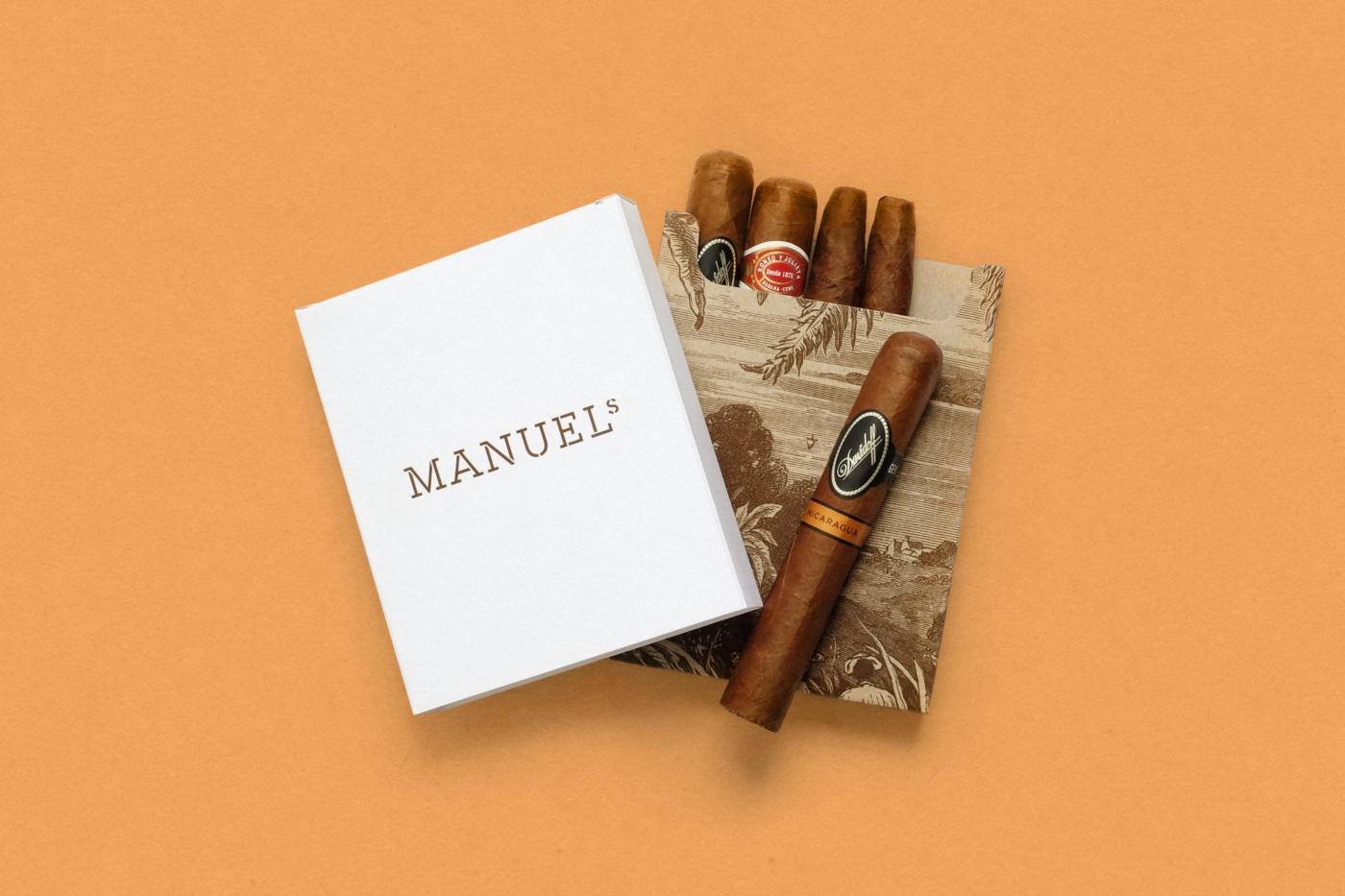 Packaging für Manuels Zigarren Selektion