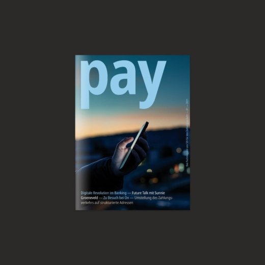 SIX PAY Magazin Editorial Design Cover