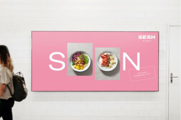 Poster Design für SESH