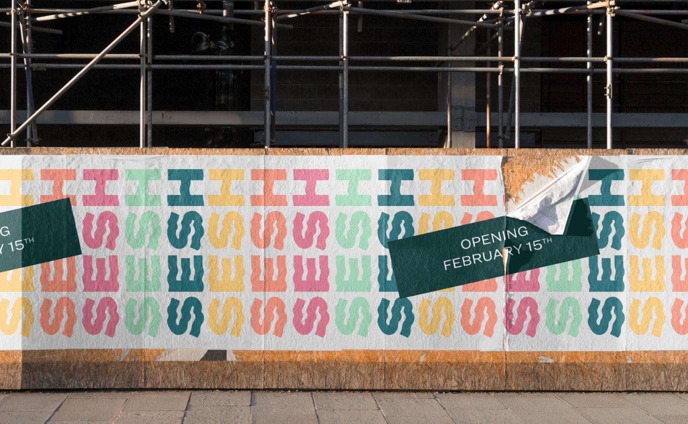Branding Anwendung Poster