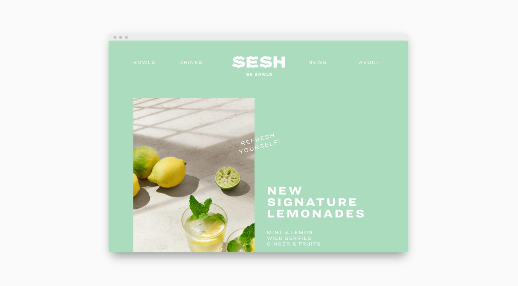 Webdesign als Teil von Branding