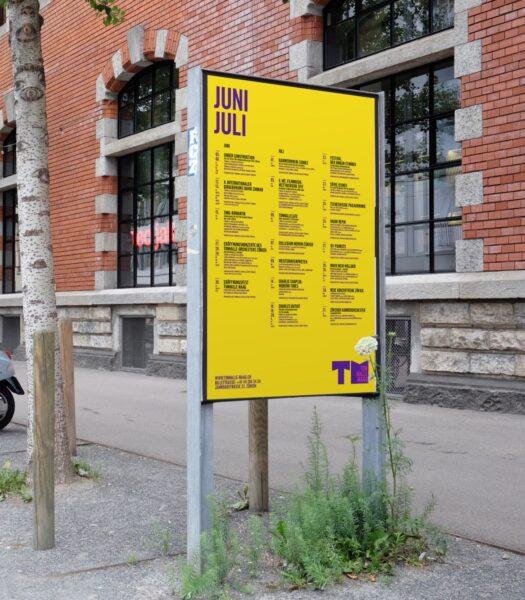 Poster Design Tonhalle Maag Jahresprogramm